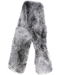 Bufanda de pelo gris de N.Peal
