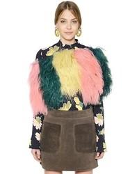 Bufanda de Pelo Multicolor de Marni