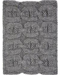 Bufanda de punto gris de Kolor