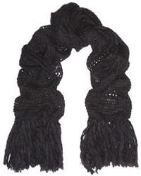 Bufanda de punto negra de Etoile Isabel Marant