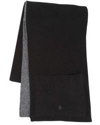 Bufanda de punto negra de Original Penguin