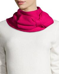 Bufanda de punto rosa de Kate Spade