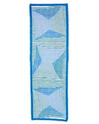Bufanda de rayas horizontales celeste de Marc by Marc Jacobs