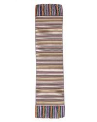 Bufanda de rayas horizontales en multicolor de Missoni