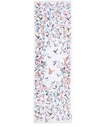 Bufanda de seda blanca de St. John
