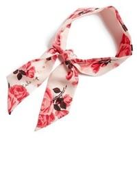 Bufanda de seda rosada de Kate Spade
