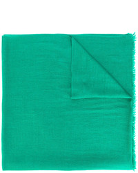 Bufanda de seda verde de Faliero Sarti