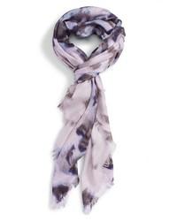 Bufanda de seda violeta claro de Nordstrom