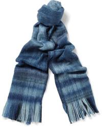 Bufanda de tartán azul de Our Legacy