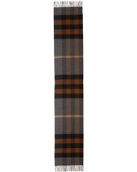 Bufanda de tartán gris de Burberry