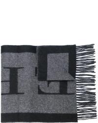 Bufanda en gris oscuro de Burberry