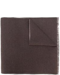 Bufanda en marrón oscuro de Gucci