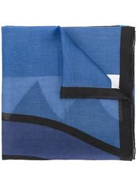 Bufanda estampada azul de Givenchy