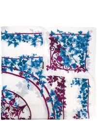 Bufanda estampada blanca de Versace