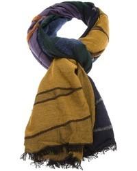 Bufanda estampada en multicolor de Boglioli
