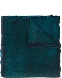 Bufanda estampada en verde azulado de Avant Toi