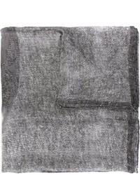 Bufanda estampada gris de Givenchy