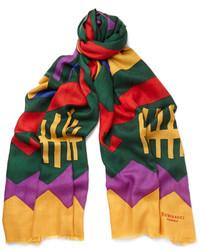 Bufanda Estampada Multicolor