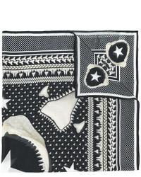 Bufanda estampada negra de Givenchy