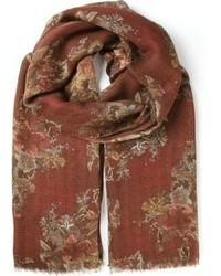 Bufanda Estampada Roja de Dolce & Gabbana