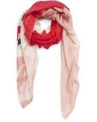 Bufanda estampada roja de Stella McCartney