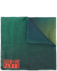 Bufanda Estampada Verde Oscuro de Kenzo