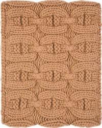 Bufanda marrón claro de Kolor