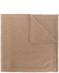 Bufanda marrón claro de Victoria Beckham