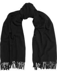 Bufanda negra de Acne Studios