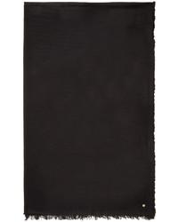 Bufanda negra de Ann Demeulemeester