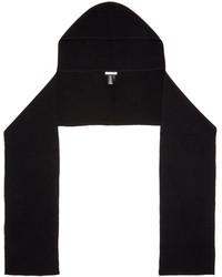 Bufanda negra de Helmut Lang