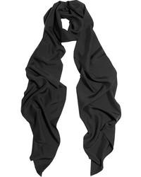 Bufanda negra de Lanvin