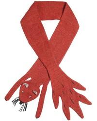 Bufanda roja de Oeuf