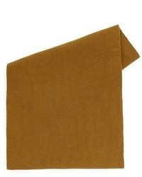 Bufanda tejida mostaza de Topman
