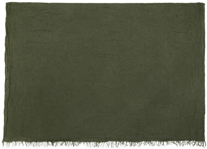 Bufanda verde oliva de Isabel Marant