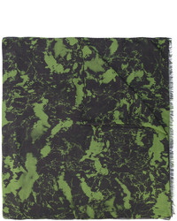 Bufanda verde oscuro de Balmain
