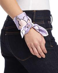 Bufanda violeta claro de Anna Coroneo