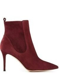 Burgundy ankle boots original 1625199