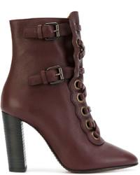 Chloé Orson Lace Up Boots