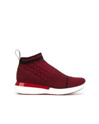 Salvatore Ferragamo Caprera Sock Sneakers