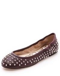 Burgundy ballerina shoes original 1619691