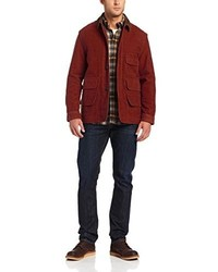 Burgundy Barn Jacket