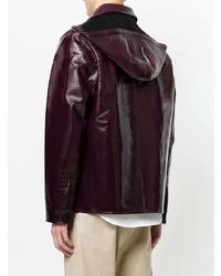 AMI Alexandre Mattiussi Bonded Vinyl Jacket
