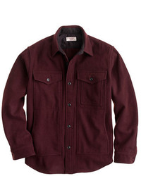 Wallace barnes wool overshirt medium 125210