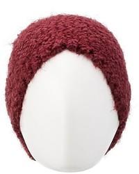 Charlotte Russe Fuzzy Popcorn Knit Beanie