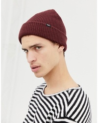 Vans Core Beanie In Burgundy Vn000k9y4qu1