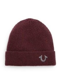 True Religion Logo Knit Watchcap