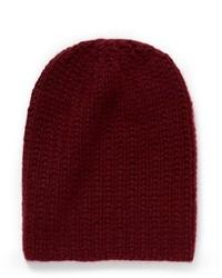 Nobrand Rib Knit Cashmere Beanie