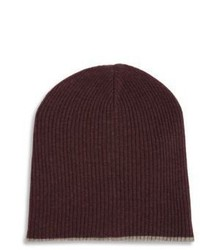 Ribbed cashmere beanie medium 955722