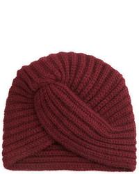 Rosie sugden cashmere turban style beanie hat medium 1211193